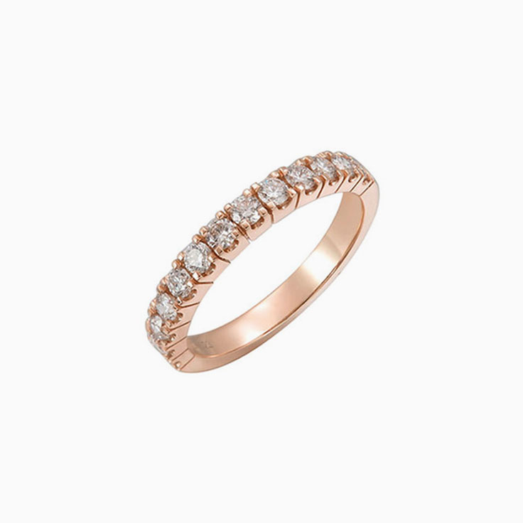 6 Points Wedding ring