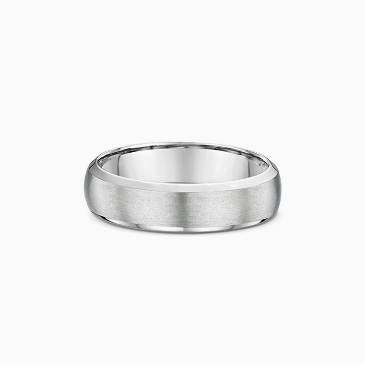 Centre Matt finish wedding band 631B00
