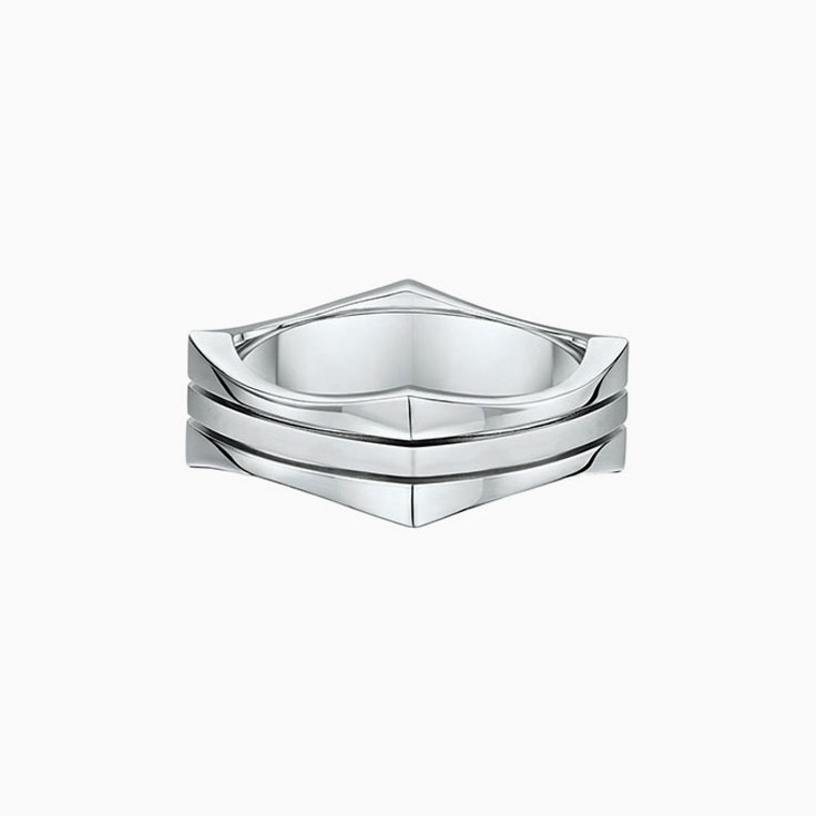 Grooved Mens Ring 920a00