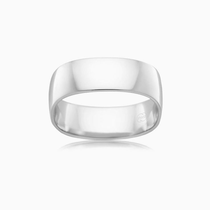 Classic Mens wedding ring C537