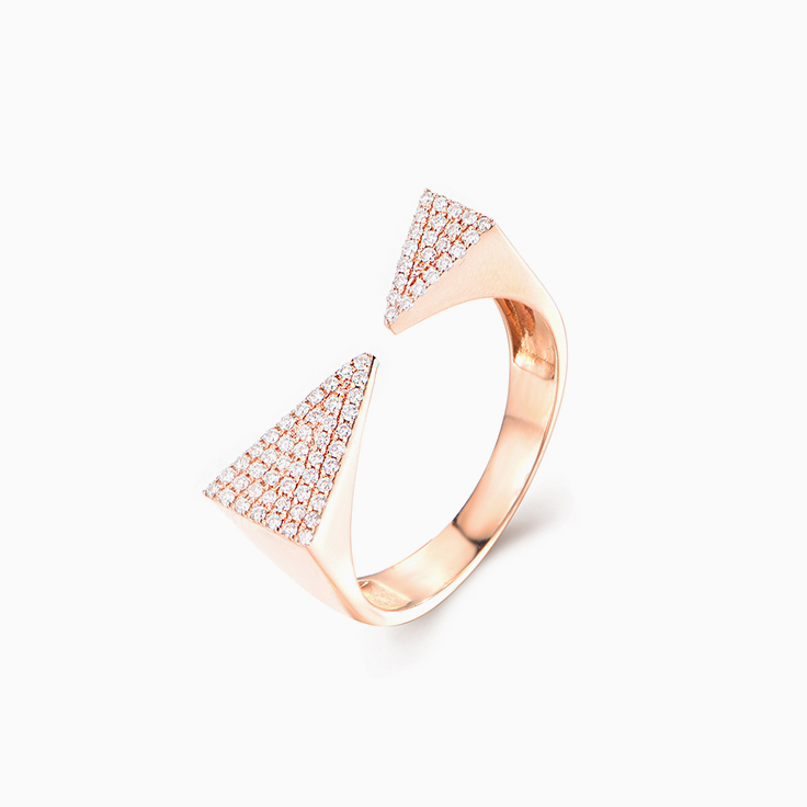 Triangle Cuff Ring