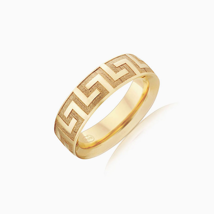 Meander Mens ring OR3836
